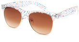Full Tilt Floral Girls Clubmaster Sunglasses