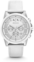 Armani Exchange Active Chronograph Silicone Strap Chronograph Watch
