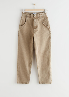 And other stories Tapered High Waist Jeans