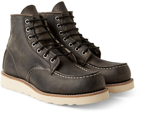 Red Wing Shoes 8890 Moc Leather Boots - Men - Gray