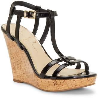 Jessica Simpson Jardina T-Strap Wedge Sandal
