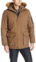 Hawke & Co Men's Morgan Parka with Quilted Bib