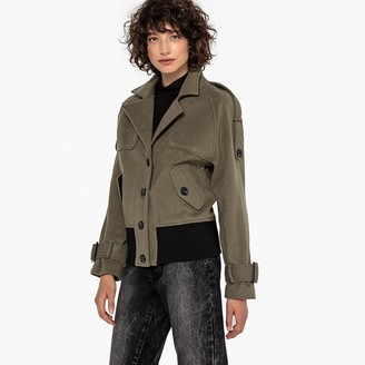 La Redoute Collections Military Trench Coat