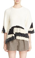 3.1 Phillip Lim Women's Hand Knit Wool Blend Sweater