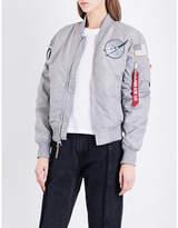 Alpha Industries NASA MA-1 shell bomber jacket