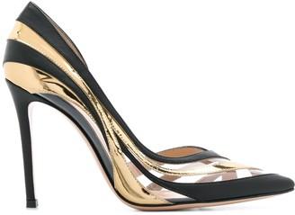 Gianvito Rossi Wavy Design Pump Shoes
