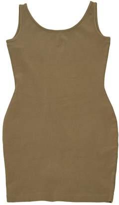 N. Kathrin Bauman \N Khaki Viscose Dresses