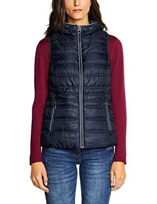 Cecil Women's 220082 Outdoor Gilet, (Deep Blue 10128), Large