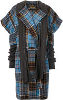 Vivienne Westwood Dionysian tartan coat