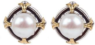 Konstantino Kleos 7.5-8mm Pearl-Post Earrings