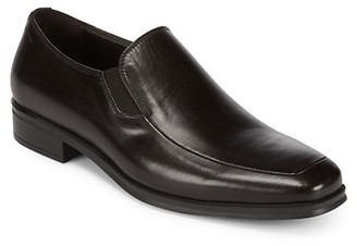 Bruno Magli Pitto Solid Leather Loafers