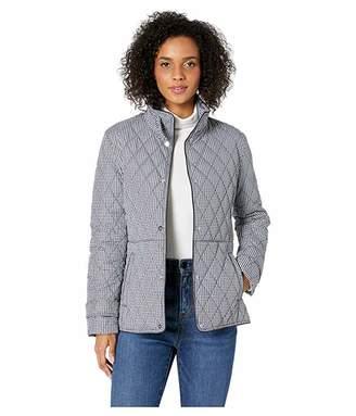 Lauren Ralph Lauren Quilted Houndstooth Jacket