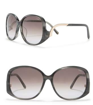 Chloé 58mm Oversized Sunglasses