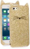 Kate Spade glitter cat iPhone 6/6s case
