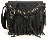 The Sak Silverlake Fringe Leather Saddle Bag