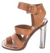 Celine Leather Multistrap Sandals