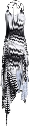 J.W.Anderson Knotted Printed Jersey Dress