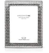 "Bloomingdale's Argento SC 8 x 10"" Chevron Frame"