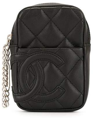 Chanel Pre-Owned Cambon CC pouch