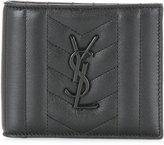 Saint Laurent branded cardholder - men - Calf Leather - One Size