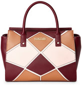 Kenneth Cole Reaction Burgundy Cathedral Satchel