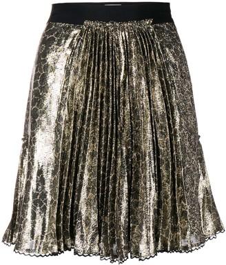 Coach pleated mini skirt