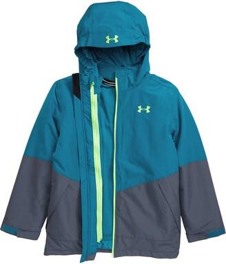 Under Armour Westward 3-in-1 Windproof & Waterproof Hooded Jacket
