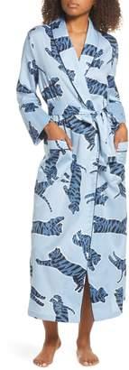 Chalmers Tilly Tiger Print Satin Robe