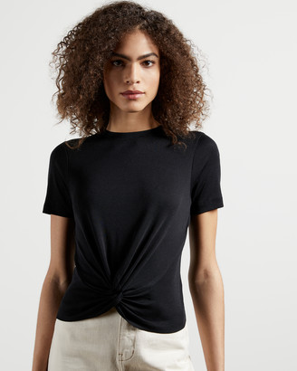Ted Baker HARIEYY Twist detail T-shirt