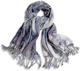 Chico's Chambray Paisley Scarf