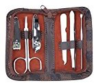 Genda 2Archer 6 Piece Nail Tools Manicure Pedicure Ear pick Nail-Clippers Set Travel Tool Kit