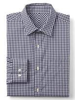Gap Wrinkle-resistant gingham standard fit shirt