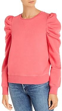 Rebecca Minkoff Janine Pleated Shoulder Sweatshirt