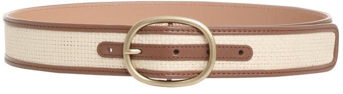 Thumbnail for your product : Zimmermann The Lovestruck Raffia Belt