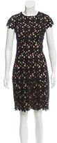 Nicole Miller Lace Knee-Length Dress w/ Tags