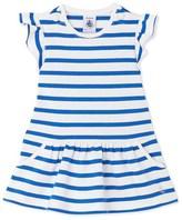 Petit Bateau Baby girls heavy jersey striped dress