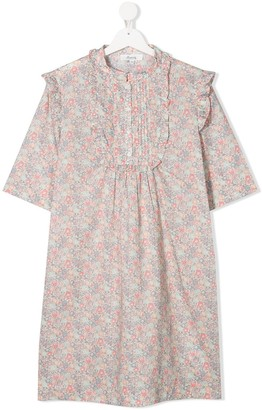 Bonpoint TEEN floral print dress