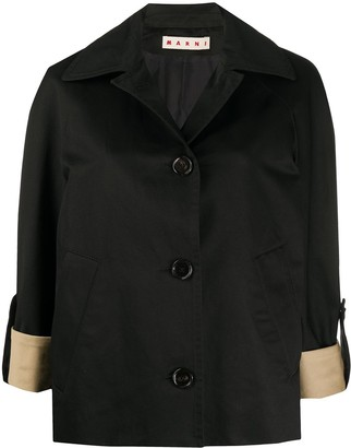 Marni Relaxed-Fit 3/4 Sleeves Jacket