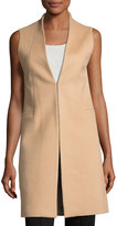 Alice + Olivia Flynn Seamed Wool-Blend Vest