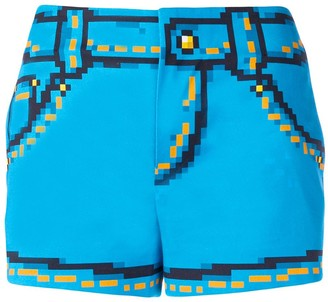 Moschino 8bit Printed Shorts