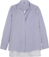 ADAM by Adam Lippes Striped cotton-poplin shirt