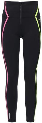 Puma Select Zipper Neon Leggings