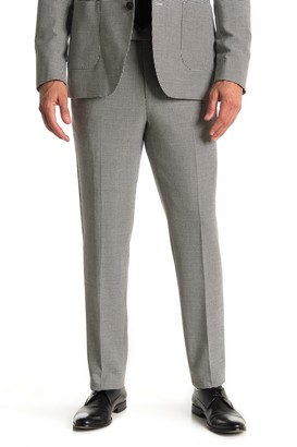 Reiss Black White Houndstooth Suit Separates Dress Pants