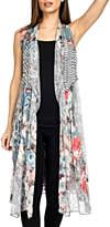 Adore Lace Floral Vest