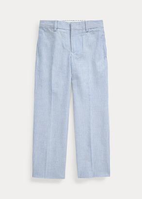 Ralph Lauren Cotton Seersucker Suit Trouser