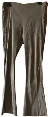 Dusan Grey Cotton Trousers for Women
