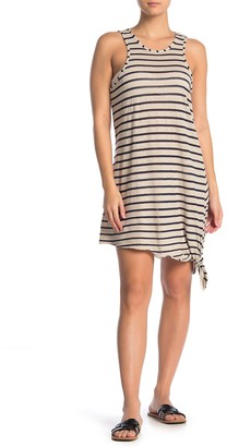 Becca Sleeveless Knotted Cover-Up Dress