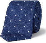 Simon Carter Herringbone Dot Tie