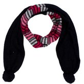 Armani Junior Girls' Knit Striped Scarf