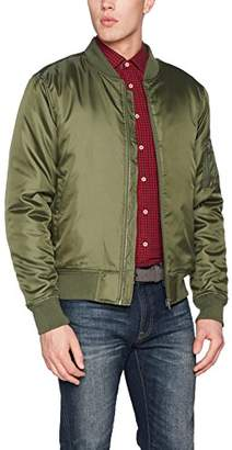 Clique Men's Bomber Jacket (Military Green), XX-Large